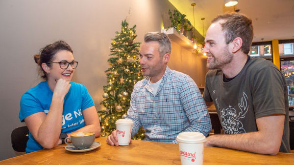 Ground coffee supporting Age NI this Christmas