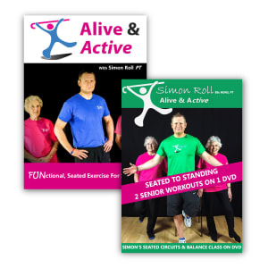 Alive & Active DVD Bundle